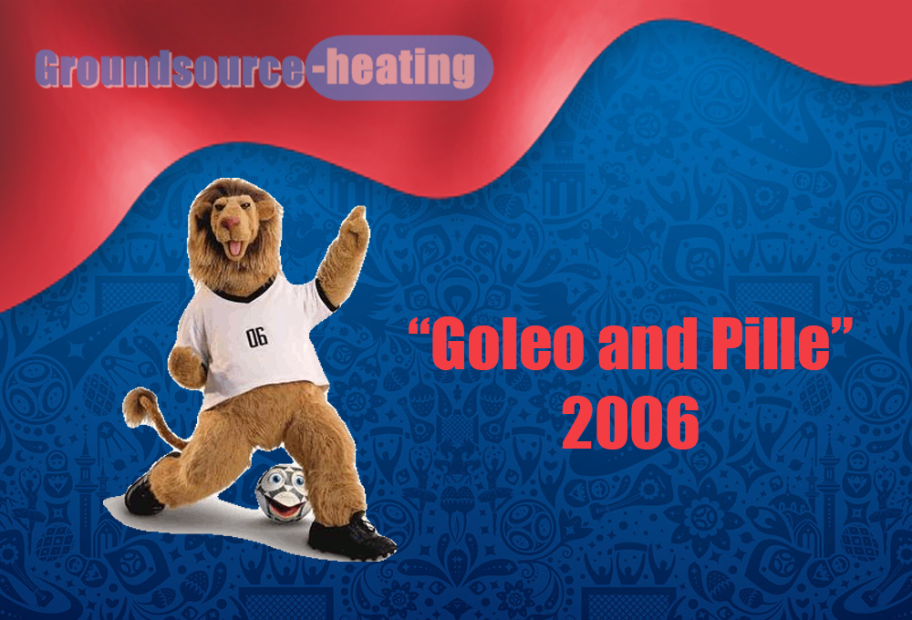 Goleo and Pille